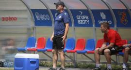 Trener Dominik Nowak ocenił sparingową porażkę Miedzi w Opolu