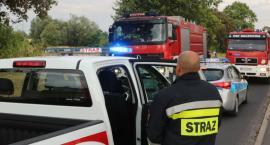 9 jednostek straży pożarnej zmagało się z pożarem przy ul. Koskowickiej [FOTO]