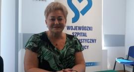 Po 13 latach rządów Krystyna Barcik żegna się z legnickim szpitalem