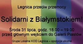 """""""Legnica solidarna z Białymstokiem"""". W środę pikieta KOD-u"""