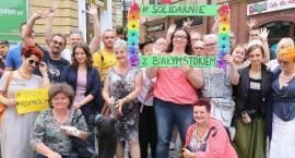 W centrum Legnicy głośno przeciw homofobii i faszyzmowi [ZDJĘCIA]