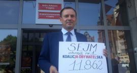 Koalicja Obywatelska pierwsza z podpisami w okręgu i kraju