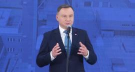 Prezydent Andrzej Duda w lubińskiej kopalni [ZDJĘCIA]
