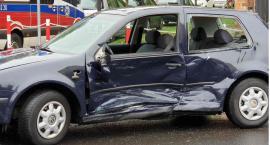 Poniedziałek w Legnicy rozpoczął się od wypadku. Trzy osoby w szpitalu!