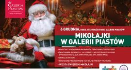 Magia niespodzianek dla najmłodszych na Mikołajki w Galerii Piastów!