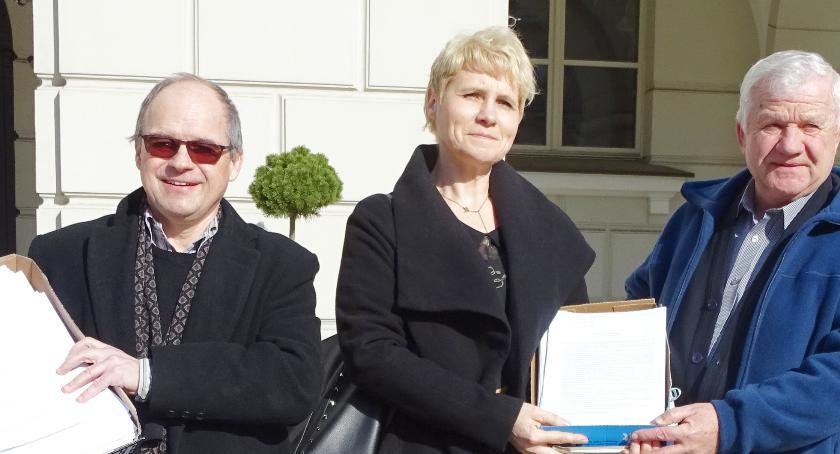 Inwestycje, Zagorzynek Zebrali tysiąc podpisów - zdjęcie, fotografia