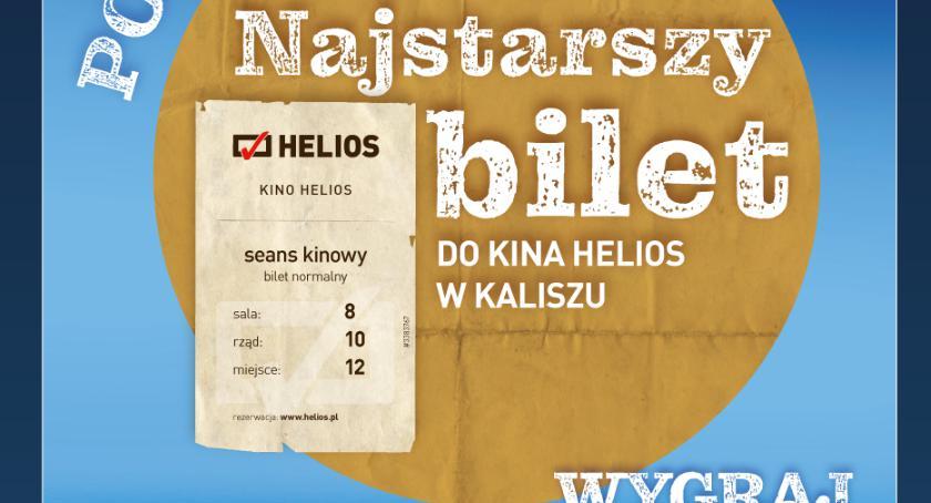 Kino, Poszukiwany najstarszy bilet Helios! - zdjęcie, fotografia