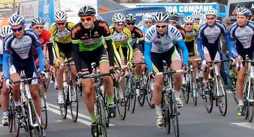 Kolarstwo, Bursztynowy wyścig - zdjęcie, fotografia
