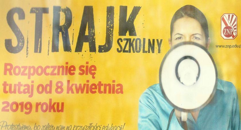 Szkoły i edukacja, więc strajk! - zdjęcie, fotografia