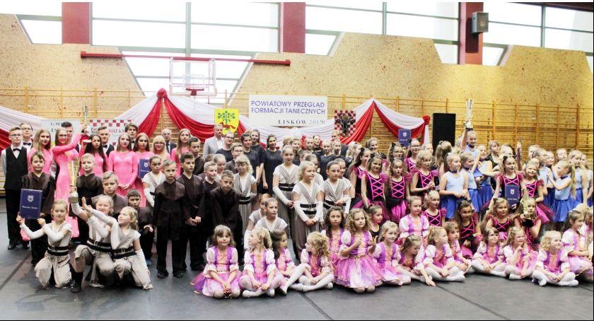 wiadomości z regionu, Tancerze opanowali Lisków - zdjęcie, fotografia