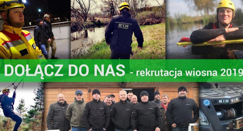 Osoby poszukiwane, Rekrutacja Grupy Poszukiwawczej - zdjęcie, fotografia
