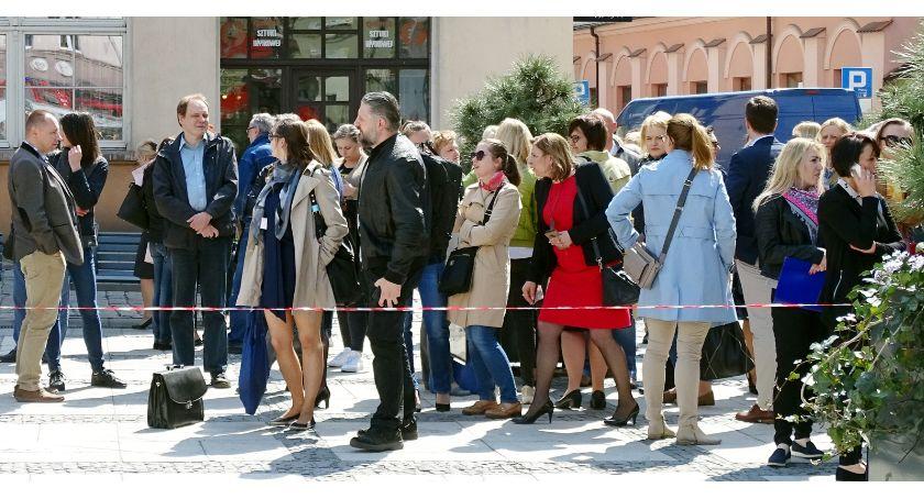 Kronika Kryminalna, Alarm bombowy Kaliszu - zdjęcie, fotografia