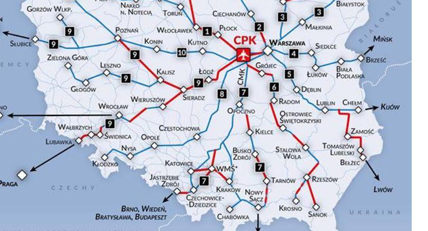 Transport, Szybka kolej jednak przez Kalisz - zdjęcie, fotografia