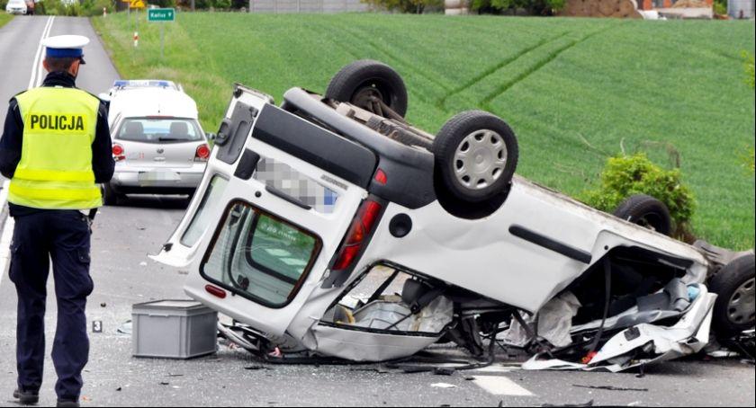 Wypadki drogowe, Zmarło dziecko ofiara wczorajszego wypadku - zdjęcie, fotografia