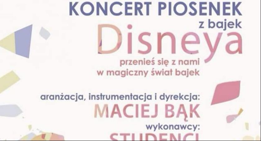 Koncerty, Koncert piosenek bajek Disneya - zdjęcie, fotografia