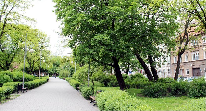 Miejski krajobraz, Planty przed egzekucją - zdjęcie, fotografia