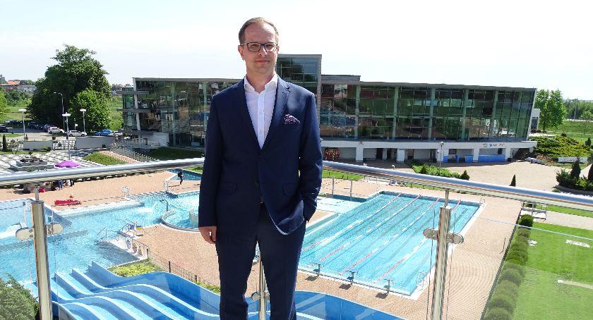 Pływanie, Aquapark Kalisz sezon rozpocząć - zdjęcie, fotografia