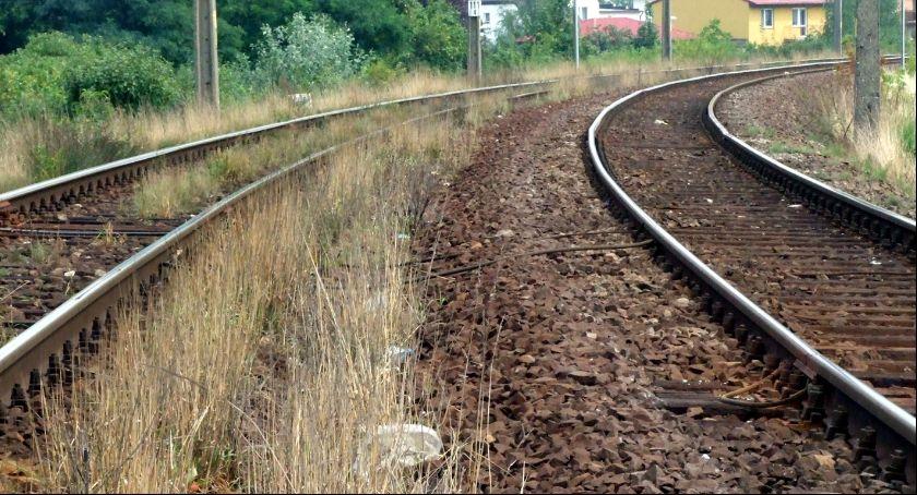 Kronika Kryminalna, Zginął potrącony przez pociąg - zdjęcie, fotografia