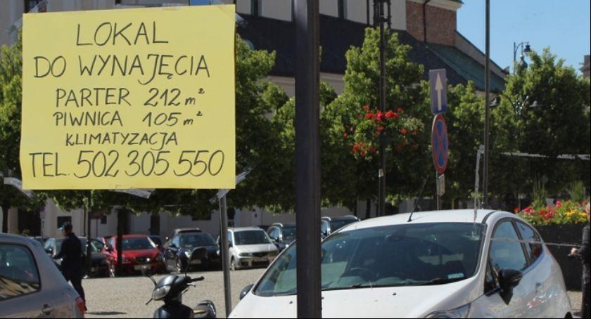 Miejski krajobraz, Kaliskie Śródmieście wynajęcia Prawie pustych lokali ścisłym centrum Kalisza! - zdjęcie, fotografia