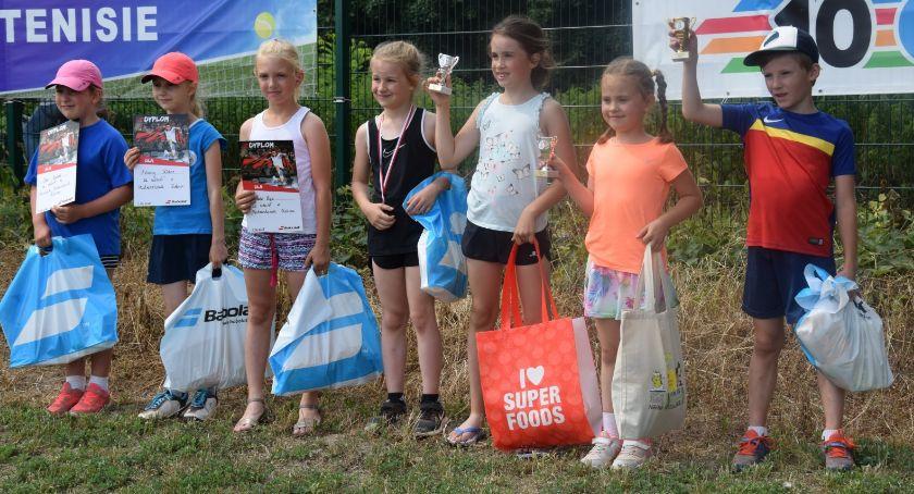 Pozostałe, Jubileuszowe tenisowe Mistrzostwa Kalisza Dzieci Młodzieży - zdjęcie, fotografia