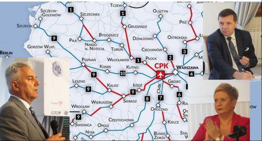 Transport, Kolej Dużych Prędkości przez Kalisz gdzie kiedy protestuje - zdjęcie, fotografia