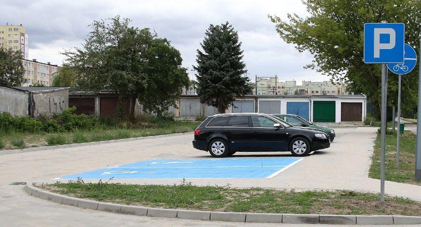 Drogownictwo, Więcej miejsc parkowania Widoku - zdjęcie, fotografia