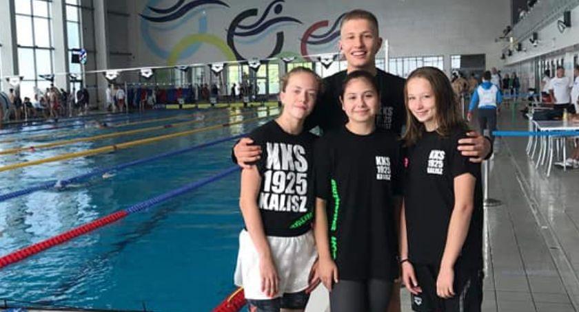 Pływanie, finały rekordy życiowe dorobek pływaków Kalisz Letnich Mistrzostwach Polski latków - zdjęcie, fotografia