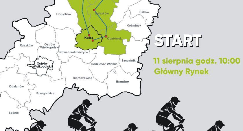 Pasje, rowerowy Aglomeracji Kalisko Ostrowskiej - zdjęcie, fotografia