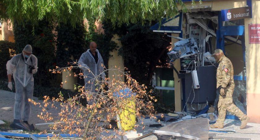 Temida, Wybuchowe włamanie bankomatu - zdjęcie, fotografia