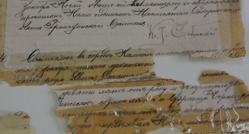 Historia, Archiwa Rodzinne Niepodległej punkt konsultacyjny Archiwum Państwowym Kaliszu - zdjęcie, fotografia