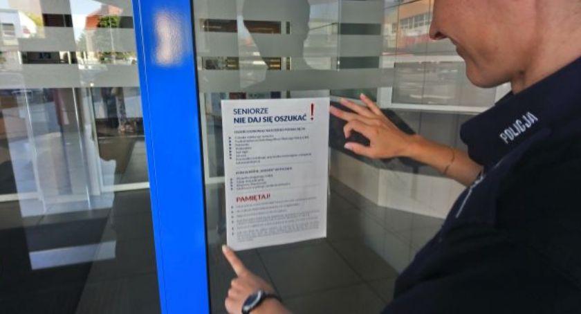 Policja - komunikaty , Banki będą ostrzegały seniorów przed oszustami - zdjęcie, fotografia