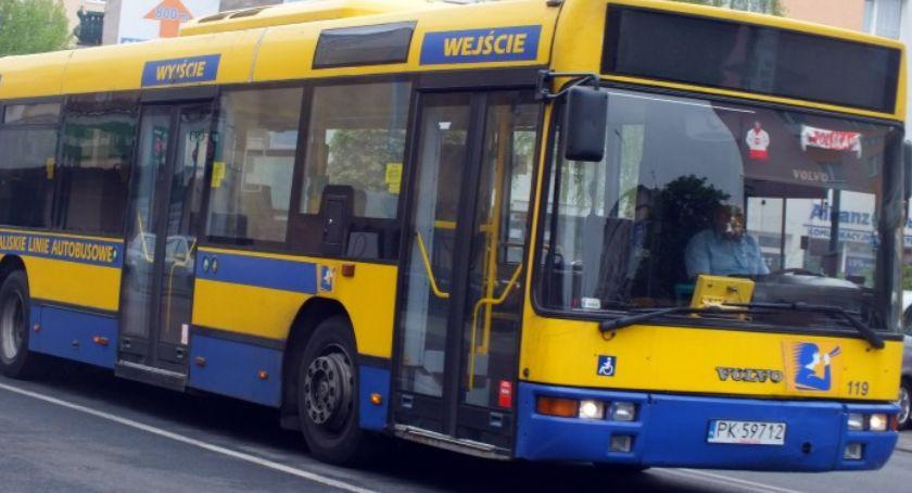 Transport, Zmiany rozkładzie jazdy linii - zdjęcie, fotografia