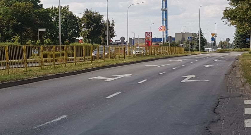 Drogownictwo, Wojska Polskiego poniedziałku remont dwóch odcinków - zdjęcie, fotografia