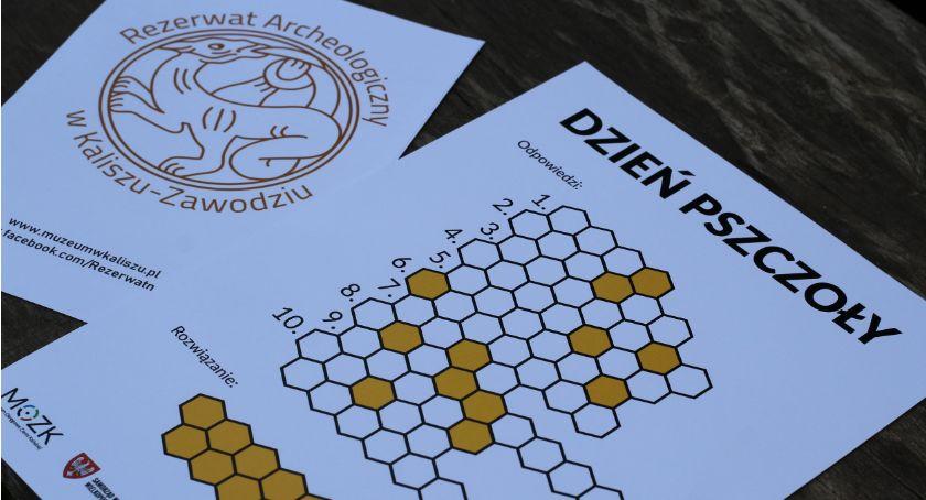 Atrakcje i Ciekawostki, Dzień Pszczoły Rezerwacie Archeologicznym Kaliszu ZDJĘCIA - zdjęcie, fotografia