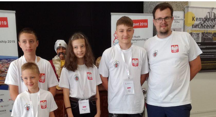 Szachy, Szachiści Kalisza wystąpili Mistrzostwach Europy Juniorów - zdjęcie, fotografia