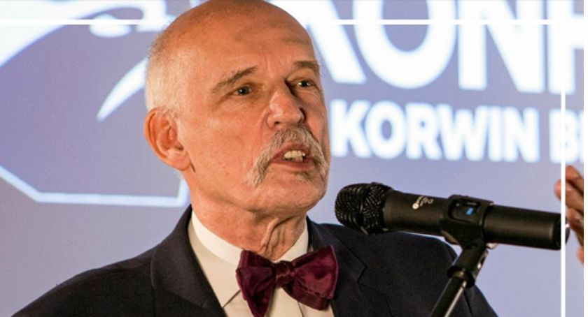 Polityka, Janusz Korwin Mikke Nasza przyszłość - zdjęcie, fotografia
