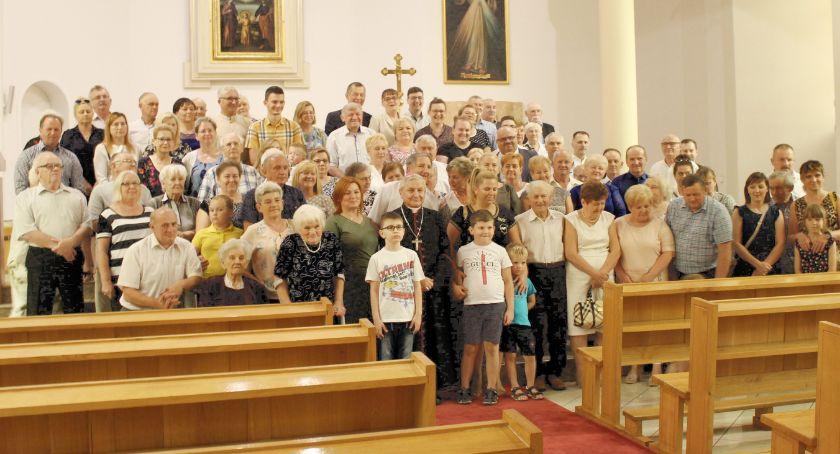 Święta i uroczystości , Zjazd rodziny Biskupa - zdjęcie, fotografia