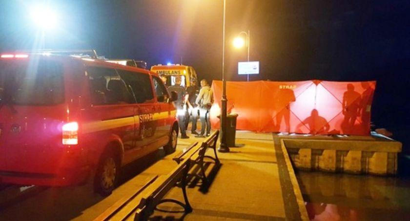 Policja - komunikaty , latek utonął Skorzęcinie - zdjęcie, fotografia