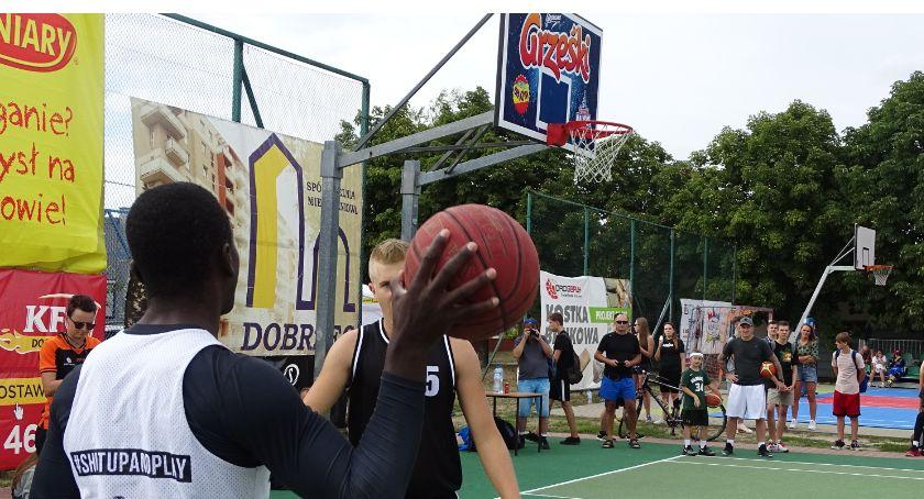 Koszykówka, Grześki Kaliski Streetball podsumowanie wyniki - zdjęcie, fotografia