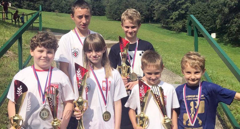 Szachy, Szachiści Kalisza medalami Mistrzostw Europejskiej - zdjęcie, fotografia