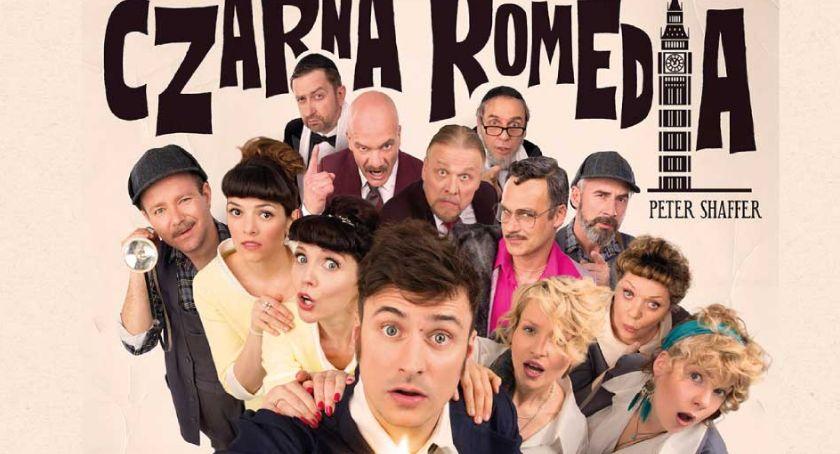 Teatr, Czarna komedia Teatr Kamienica - zdjęcie, fotografia