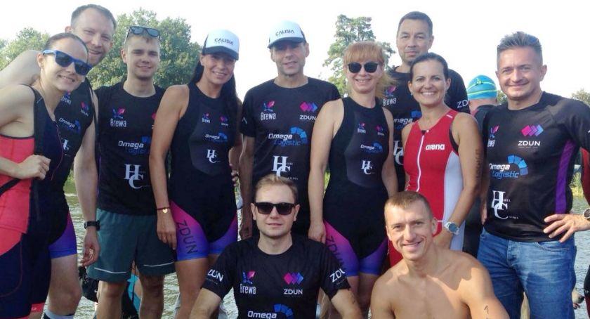 Lekkoaltetyka, Pierwszy Kaliszu amatorski teamem zrzeszającym miłośników triathlonu biegania - zdjęcie, fotografia