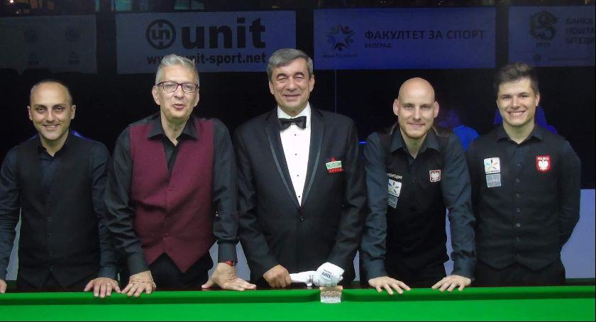 Snooker, snookerowe medale Kaliszu - zdjęcie, fotografia