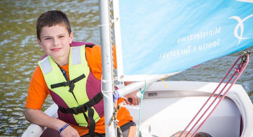 Pasje, Najmłodsi żeglarze rywalizowali Prośnie Finał PolSailing - zdjęcie, fotografia