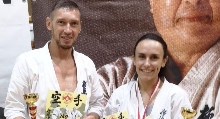 Sporty Walki, Kaliscy karatecy walczyli Podlasiu - zdjęcie, fotografia