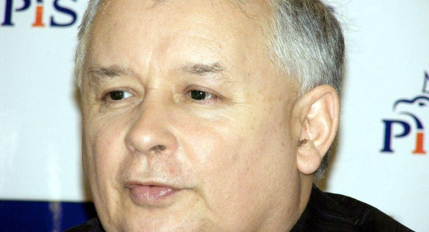 Polityka, Regionalna konwencja Kaliszu udziałem Jarosława Kaczyńskiego - zdjęcie, fotografia