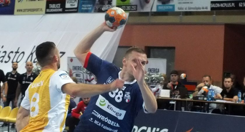 Piłka ręczna, Skuteczny Kirył waleczny Konrad Piłkarze ręczni Energi Kalisz pokonali beniaminka PGNiG Superligi DUŻO ZDJĘĆ - zdjęcie, fotografia