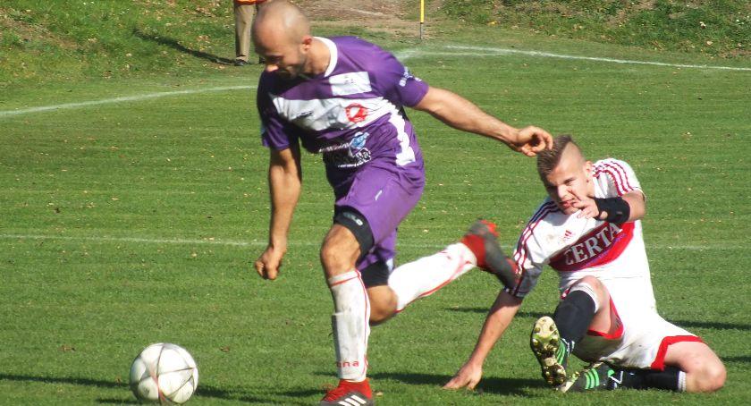 Piłka nożna, przerwie Prosna Kalisz wygrała ósmy sezonie prowadzi grupie klasy ZDJĘCIA WYNIKI - zdjęcie, fotografia
