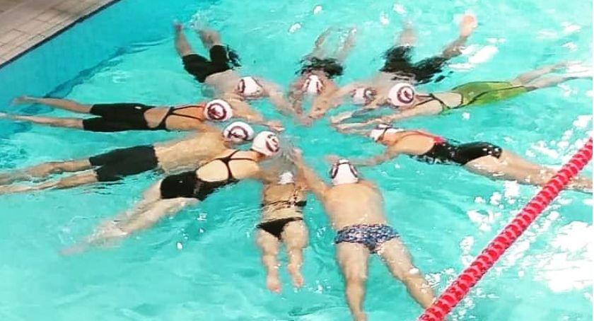 Pływanie, Barracuda pływała medale Sukcesy kaliskich Mastersów Mistrzostwach Polski - zdjęcie, fotografia