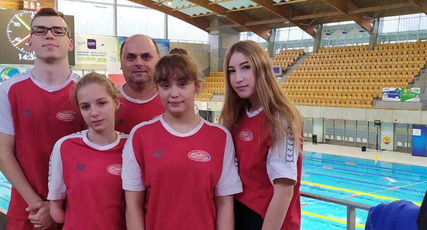 Pływanie, Młodzież Start Kalisz pływała mistrzostwach kraju - zdjęcie, fotografia